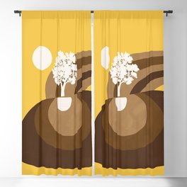 Modern shapes 7 Blackout Curtain