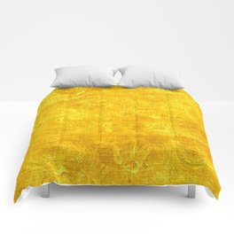 Freesia Oil Painting Color Accent Comforters