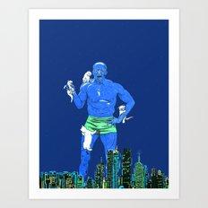 Terry Crews Art Print