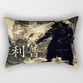 Honor of the Samurai Rectangular Pillow