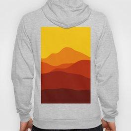 Mountains at Sunset  #society6 #decor #buyart #artprint Hoody