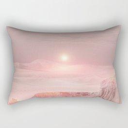 Pastel desert Rectangular Pillow