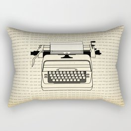 All work and no play II Rectangular Pillow