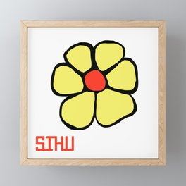 Sihu Framed Mini Art Print