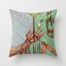 Create Destroy Throw Pillow