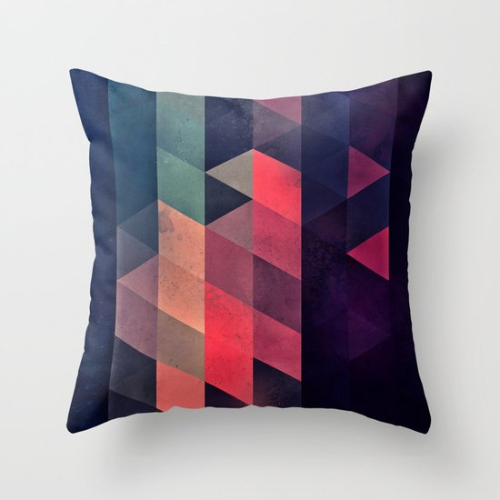 edyfy wyth lyys Throw Pillow