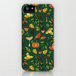 Bright autumn iPhone Case