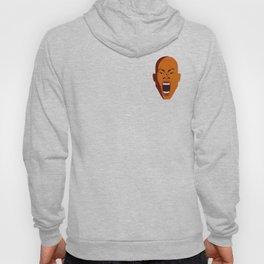 Orange Screaming face Digital pop Art graphic design zolliophone shop Canvas Hoody