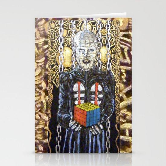Rubik raises Hell (revenge) Stationery Cards