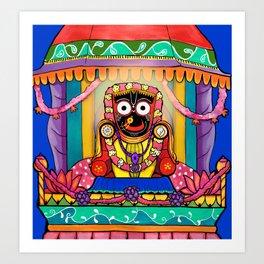 Lord Jagannatha Art Print