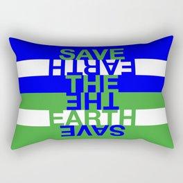 Save the Earth Rectangular Pillow