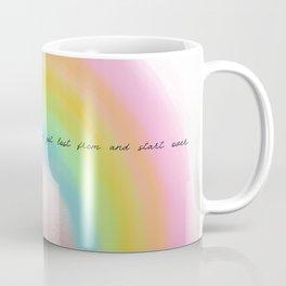 starting over. Coffee Mug