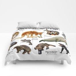 Animals of Australia Comforters