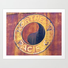 Rust and Memories Art Print
