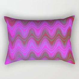 Agate Wave Pink - Mineral Series 004 Rectangular Pillow