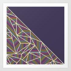 B Rays Geo 3 Art Print
