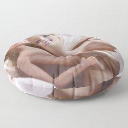 A Look Of Love Floor Pillow