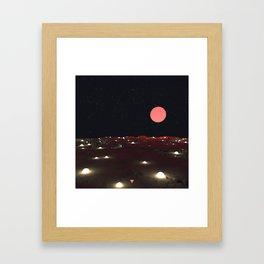WE FELT THE MAGIC OF THE UNIVERSE - ∀ Framed Art Print