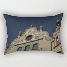 Architecture Of Tallinn Rectangular Pillow