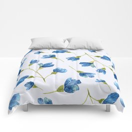 Floral pattern 8 Comforters