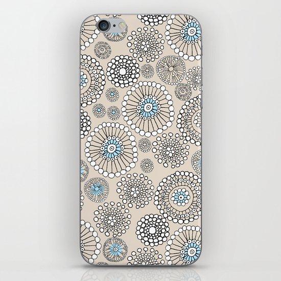 Flower bubble iPhone & iPod Skin