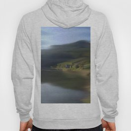 Swept Away Abstract Landscape Hoody