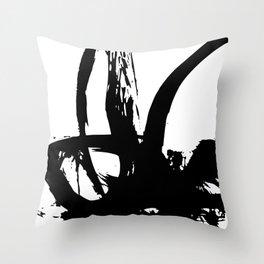 Brushstrokes No.17B by Kathy Morton Stanion Throw Pillow