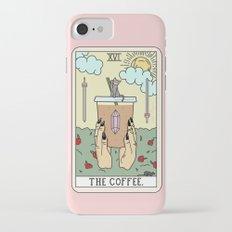 COFFEE READING iPhone 7 Slim Case