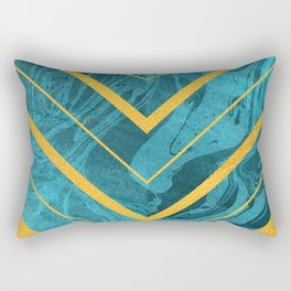 Geometric XXXXII Rectangular Pillow