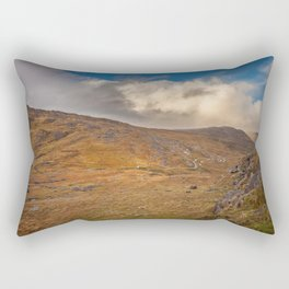 Healy Pass Caha Mountains Ireland Rectangular Pillow