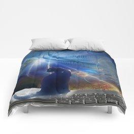 Cyberspace Cat Comforters