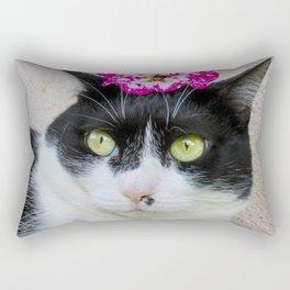 Khoshek sweet kittycat Rectangular Pillow