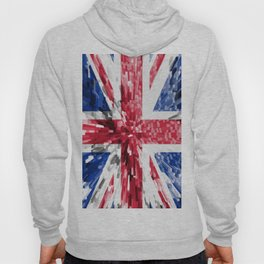 Extruded Flag of the United Kingdom Hoody