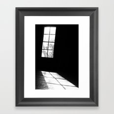 Light & Shadow Framed Art Print