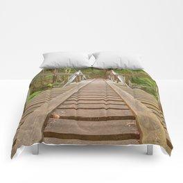 Forest Track Bridge Comforters