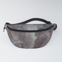 Abstract Underwater Cave Shapes Fanny Pack