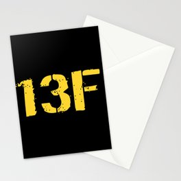 13F Fire Support Specialist Stationery Cards