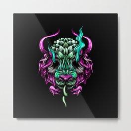 Buffalo color Metal Print