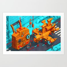 Drone Site Art Print