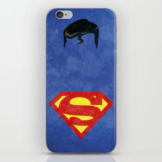 Supes iPhone & iPod Skin