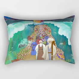 Red Sea Crossing Rectangular Pillow