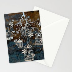 Bird Cage Chandelier Stationery Cards