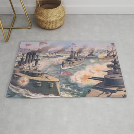 Cuban coast Rug