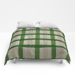 Evergreen Cozy Cabin Plaid Comforters