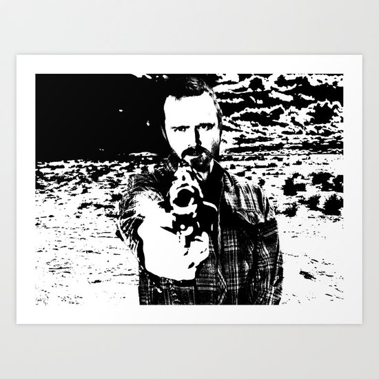 Jesse Pinkman Breaking Bad Art Print