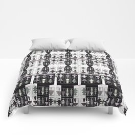 Internet of Everything Optical Illusions Comforters