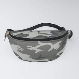 Camouflage Pattern Snow Fanny Pack