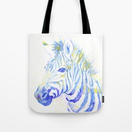 Quiet Zebra Tote Bag