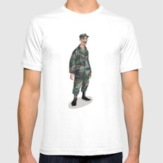 I'm going to Army Mens Fitted Tee White MEDIUM