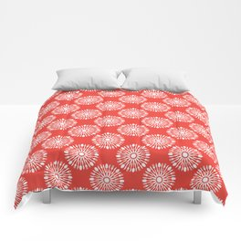 Kitchen cutlery red Comforters